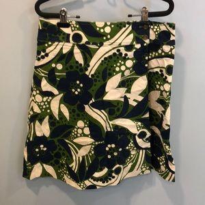 Lilly Pulitzer Aline wrap corduroy skirt